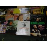 A large collection of Lp's Record to include: John Denver, Blondie, Davis Cassidy, Abba etc