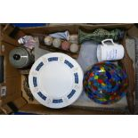 Job lot of assorted collectables: Includes 6 x Beswick dinner plates, Canteen of cutlery, multi