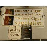 A Collection of Quality Cigar Signage(4):