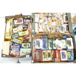 A collection of Lledo & Matchbox boxed Model Vehicles (3 trays):
