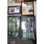 A mixed collection of items to include Benham signed Legends of Comedy Two Ronnies Framed item,