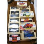 A collection of Mixed Theme Corgi Classics Cars & Trucks including: BRS Bedford truck, Skills