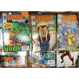 A collection of Marvel Comics Wolverine Unleashed Comics including volumes 1-31, 36 -41 & 44-49