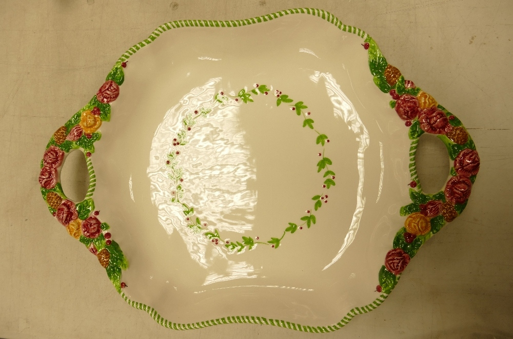 Royal Albert Old Country Rose Seasons of Colour Boxed Large Handled Tray: length 44cm