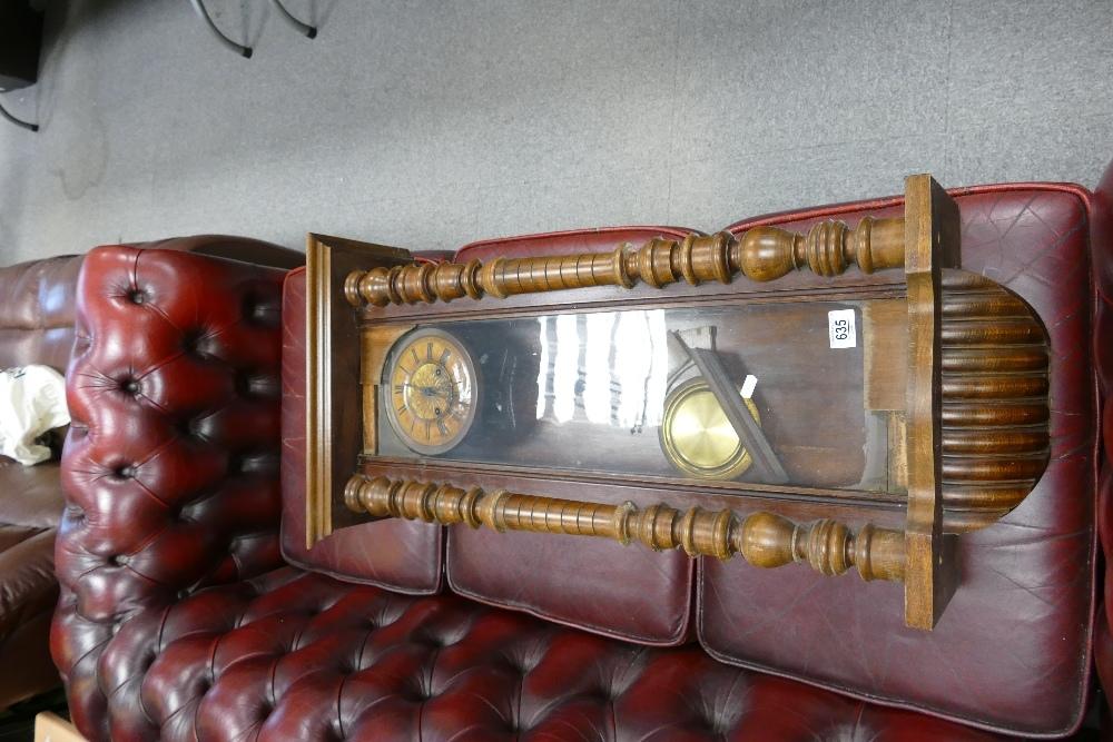 Distressed Vienna Wall Clock: