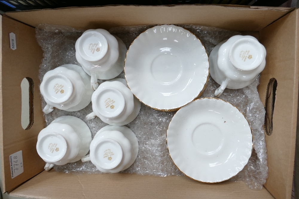 Two x Royal Albert porcelain tea sets Country Fayre Somerset and Val Dor: 24 pieces in total. - Image 3 of 3