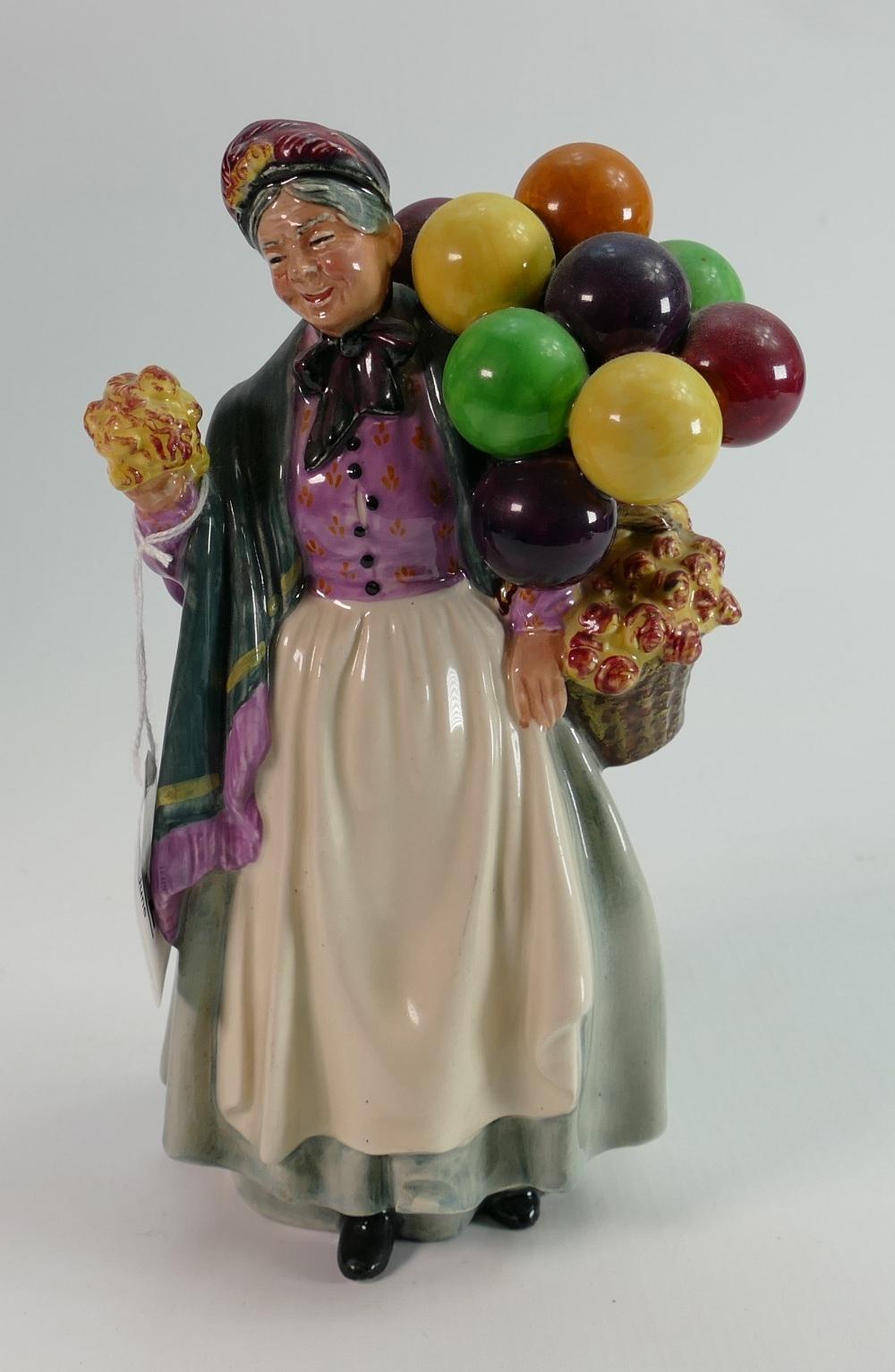 Royal Doulton figure Biddy Penny Farthing HN 1843: An earlier example.