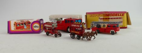 A collection of continental boxed & loose vehicles including : Lone Star, Siku, Espewe Modelle etc.
