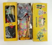Pelham boxed Puppets: Big Bad Wolf & Wicked Witch. (2)