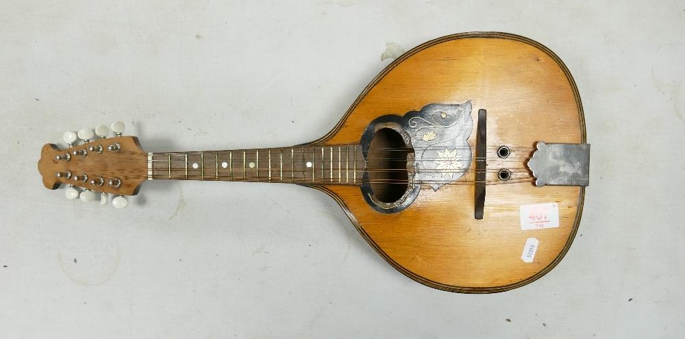 Distressed Mandriola 8 string Mandolin:
