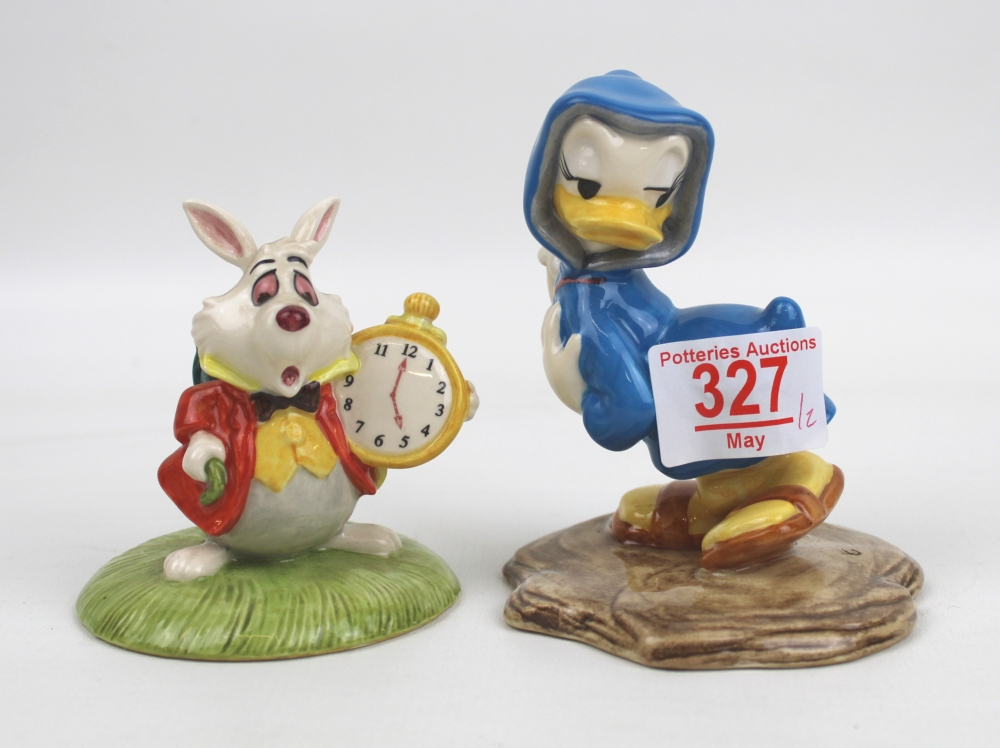 Royal Doulton Limited Edition Disney Figures: White Rabbit from Alice in Wonderland & Pomp & - Image 2 of 2