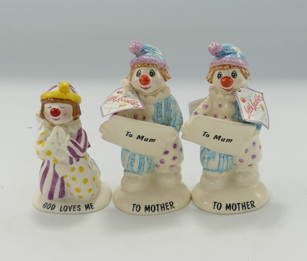 Beswick Little Lovables figures: To Mother, God Loves Me & To Mum, all boxed(3)