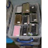 A large quantity of Samsung GA7 phone cases: bling, metalic, cats, dogs