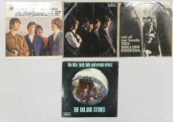 Rolling Stones Lp's to include: High Tide & Green Grass xarl-7503-1a with leaflet, Out of Our