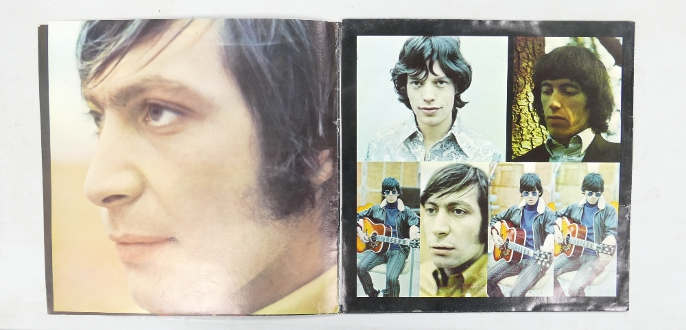 Rolling Stones Lp's to include: High Tide & Green Grass xarl-7503-1a with leaflet, Out of Our - Image 2 of 2
