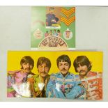 Beatles Lp's to include:With The Beatles xex448-1n, Revolver xex 606-3, Sgt Peppers YEK 638-2 &b