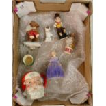 Royal Doulton Collection: Including Santa Claus toby D6705, Marie 1370, Mr Pickwick small toby,