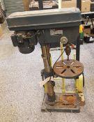A Clarke 'Metal Worker' pillar drill/drill press: