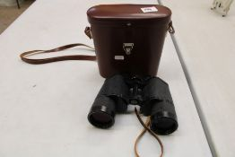 A pair of Carl Zeiss Jena Binoculars : with case