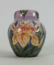 Moorcroft Windrush patterned small ginger jar: