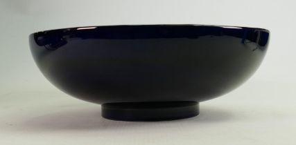 Moorcroft Clematis patterned fruit bowl: Diameter 28cm.