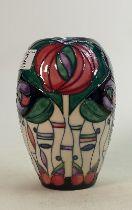 Moorcroft Rennie Mackintosh vase: Height 19cm