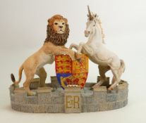 Brooks & Bentley Defenders of the Realm English Scottish Heritage Coat Of Arms: Limited edition,