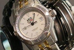 Tag Heuer ladies professional wrist watch: WD1421-PO In original box. Quartz movement in ticking