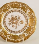 Hammersley Grand Baroque heavily gilded 22 piece tea set: To include 6 x cups, saucers and plates,