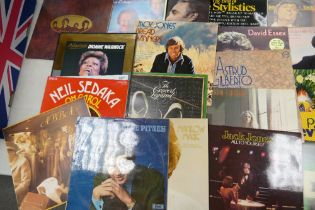 A Collection of 1970's & Later Lp's records to include: Jack Jones, The Beatles, Dave Burbeck, Abba,