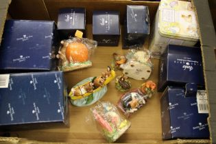 A collection of Border Fine Art Resin Figure: including Birds, Mice, Beatrix Potter , all boxed etc