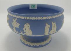 Wedgwood Jasperware Footed Bowl: diameter 20cm