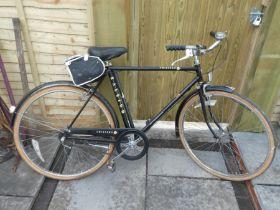 Raleigh Chiltern mens vintage bike with saddle bag