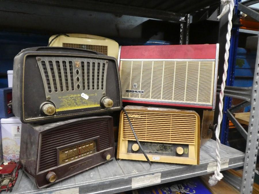 Vintage Regentone radio and a selection of radios by Philips, Solar, Eiggro, etc - Image 2 of 2