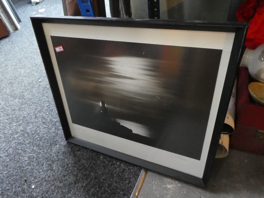 A case of mostly china and glass including some framed and unframed pictures - Image 2 of 3