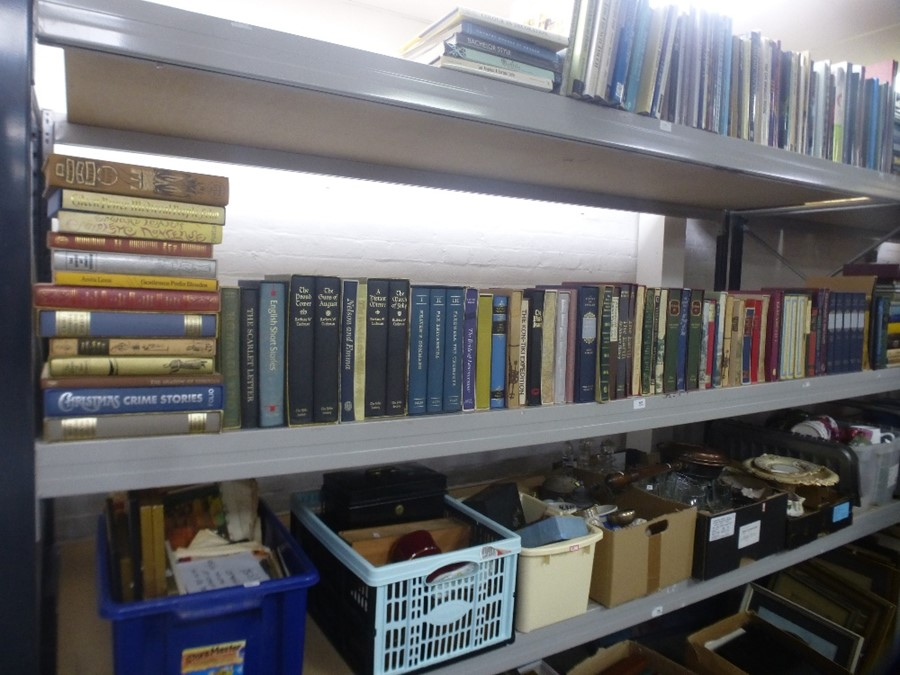 A quantity of folio society publications and similar, approx 120