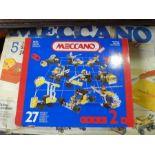 Two vintage boxed Meccano sets