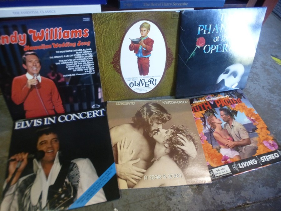A Quantity of records to incl. movie and stage show