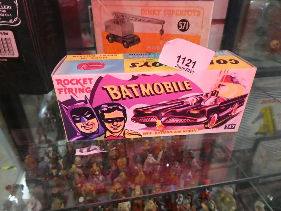 Batmobile in a box, Corgi 267