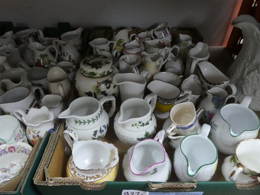 A quantity of cream jugs, Some Royal Worcester - Image 3 of 4