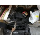 Selection of vintage video equipment including Sony, JVC, etc
