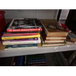 Various books on The Beatles, David Bailey 'Black and White Memories', Antiquarian books, flags and