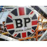 BP Motor Sport sign