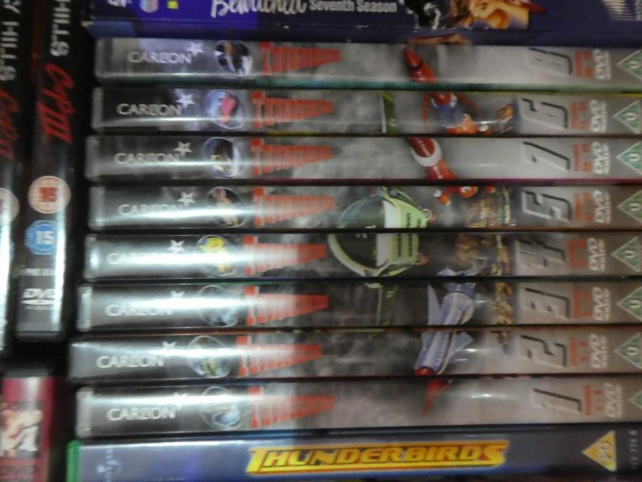 Selection of mostly box set DVDs including Star Wars, Thunderbirds, John Wayne, etc - Image 2 of 4