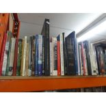 Quantity of hard/paperback books on travel, ships and yachts, etc