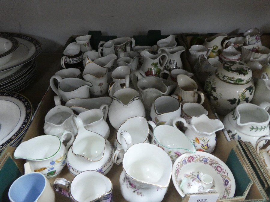 A quantity of cream jugs, Some Royal Worcester - Image 4 of 4