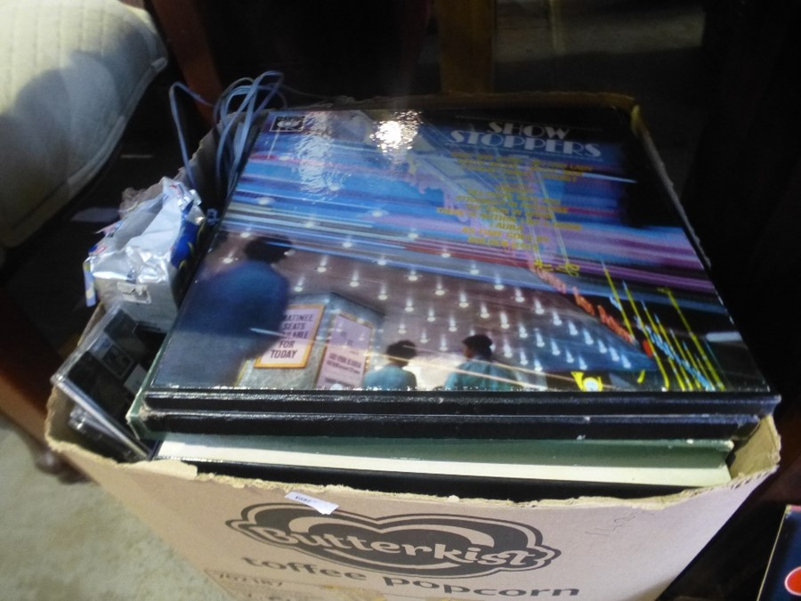 A Quantity of records to incl. movie and stage show - Image 2 of 2