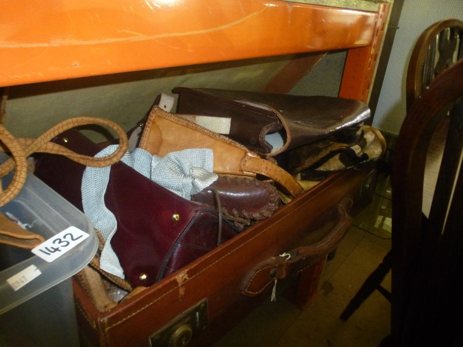 Quantity of vintage clothing, furs, bags etc - Image 2 of 3