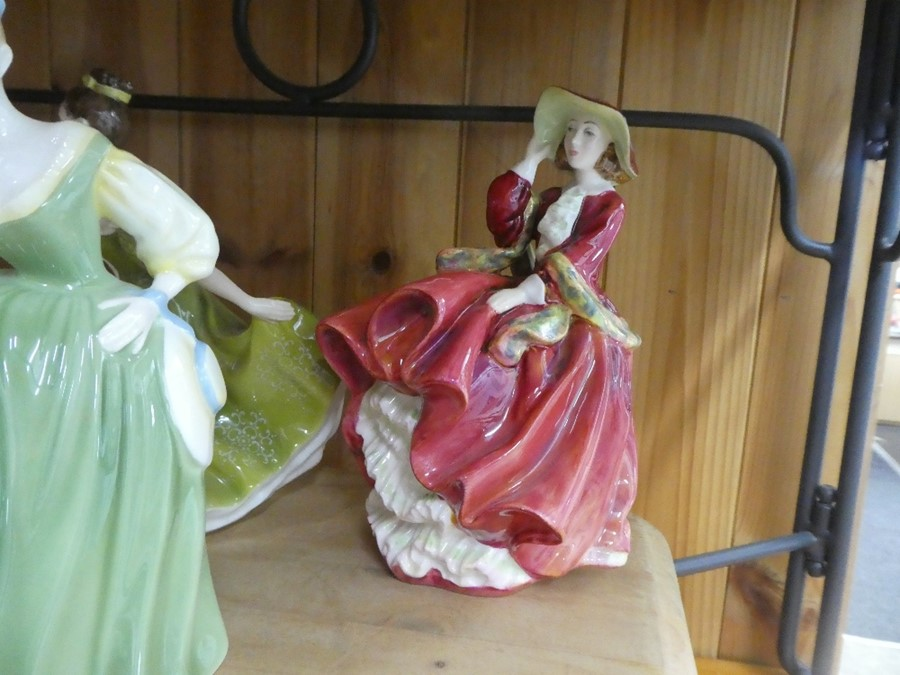 A quantity of Royal Doulton including Simone, Wistful & Fair Lady - some AF - Image 5 of 5