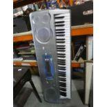 Unboxed Casio keyboard incorporating smart media AF